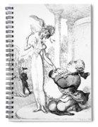 Rowlandson: Cartoon, 1810 Spiral Notebook