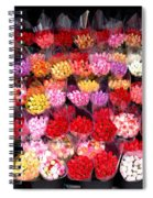 Rows Of Roses Spiral Notebook