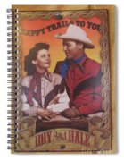 Roy And Dale Spiral Notebook
