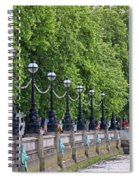 Royal Air Force Memorial By The River Thames 5801 Spiral Notebook