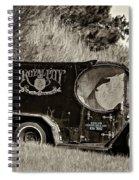 Royal City Paddy Wagon Sepia Spiral Notebook