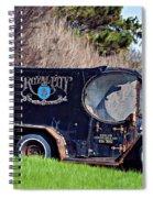 Royal City Paddy Wagon Spiral Notebook