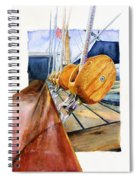 Royal Clipper Ships Tackle Spiral Notebook