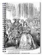 Royal Costume Ball, 1851 Spiral Notebook