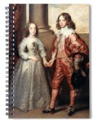Royal Couple, 1641 Spiral Notebook