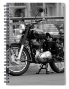 Royal Enfield Goes Berlin Spiral Notebook