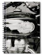 Royal Enfield Motorbike Spiral Notebook