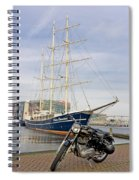 Royal Enfield Motorcycle Spiral Notebook