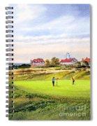 Royal Liverpool Golf Course Hoylake Spiral Notebook