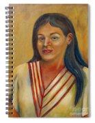 Royal Maiden Xochitl Spiral Notebook