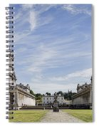 Royal Naval College Courtyard Spiral Notebook