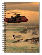 Royal Navy Rescue  Spiral Notebook