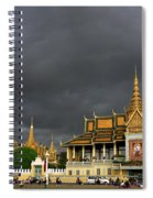 Royal Palace Cambodia Spiral Notebook