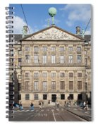 Royal Palace From Raadhuisstraat Street In Amsterdam Spiral Notebook