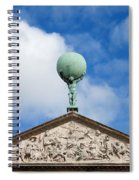 Royal Palace In Amsterdam Architectural Details Spiral Notebook