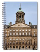 Royal Palace In Amsterdam Spiral Notebook
