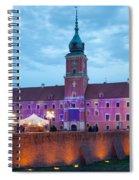 Royal Palace In The Old Town Of Warsaw Spiral Notebook