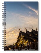 Royal Park Rajapruek On Sunset Spiral Notebook