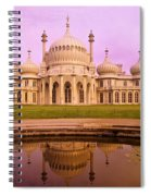 Royal Pavilion In Brighton England Spiral Notebook