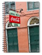 Royal St. Pharmacy Spiral Notebook