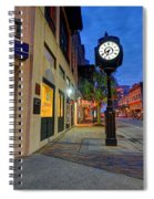 Royal Street Clock Spiral Notebook