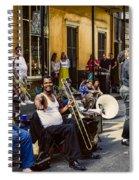 Royal Street Jazz Musicians Spiral Notebook