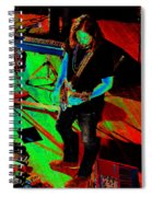 Rrb #19 Enhanced In Cosmicolors Spiral Notebook