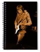 Rt #17 Crop 2 Enhanced In Amber Spiral Notebook