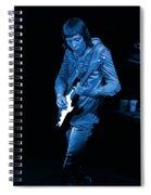 Rt #17 Crop 2 Enhanced In Blue Spiral Notebook