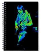 Rt #17 Crop 2 Enhanced In Cosmicolors Spiral Notebook