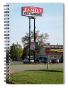 Rt 66 Chenoa Illinois Spiral Notebook