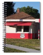 Rt 66 Dwight Il Food Stop Spiral Notebook