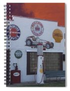 Rt 66 Dwight Il Roadside Attraction Spiral Notebook