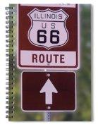 Rt 66 Signage Spiral Notebook