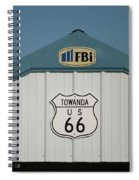 Rt 66 Towanda Plague Spiral Notebook