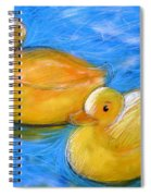 Rubber Ducks In A Tub Spiral Notebook