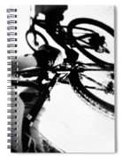Rubber Side Down Spiral Notebook