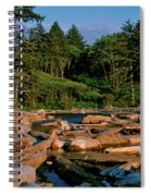 Ruby Bay North Pacific Ocean Spiral Notebook