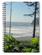 Ruby Beach I Spiral Notebook