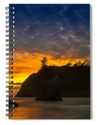 Ruby Beach Olympic National Park Spiral Notebook