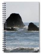 Ruby Beach Sea Stack Spiral Notebook