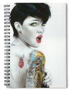 Ruby IIi Spiral Notebook