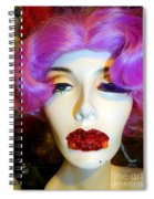 Ruby Red Lips Spiral Notebook