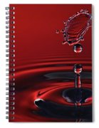 Ruby Red Spiral Notebook