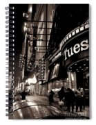 Ruby Tuesday's Times Square - New York At Night Spiral Notebook