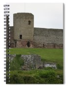 Ruddlan Castle 2 Spiral Notebook