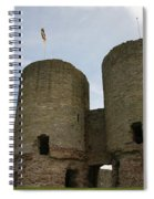 Ruddlan Castle Spiral Notebook