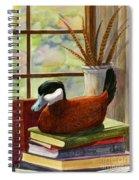 Ruddy Duck Decoy Spiral Notebook