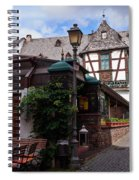 Rudesheim Spiral Notebook