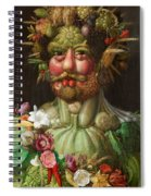 Rudolf II Of Habsburg As Vertumnus Spiral Notebook